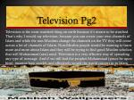 television pg2