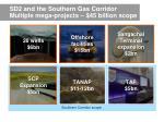 sd2 and the southern gas corridor multiple mega projects 45 b i l lion scope