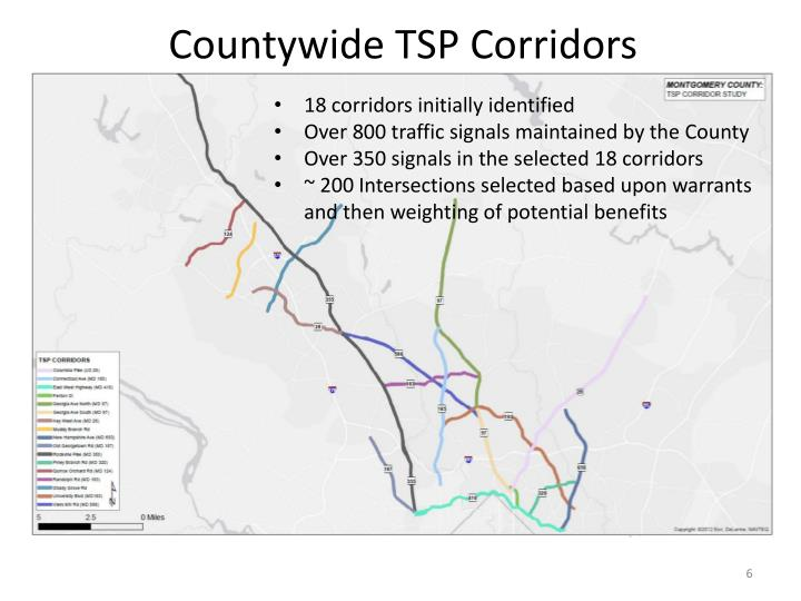 Countywide TSP Corridors