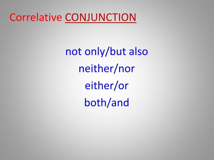 Correlative