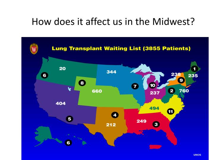 How does it affect us in the midwest