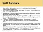 unit 2 summary
