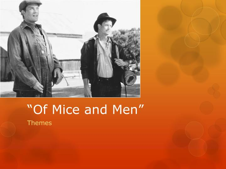 of mice and men annalysis Find out more about of mice and men chapters read our chapter by chapter summary and analysis of of mice and men and find relevant essays to improve your understanding.