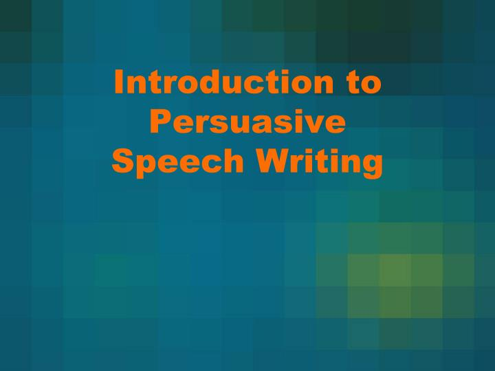 persuasive writing power point Persuasive writing tells the writer's opinion and why the reader should agree what is the goal of persuasive writing to state the writer's opinion.