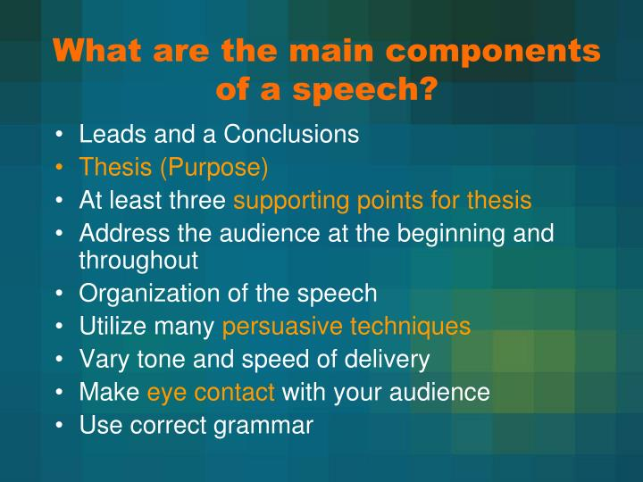 PPT Introduction To Persuasive Speech Writing PowerPoint