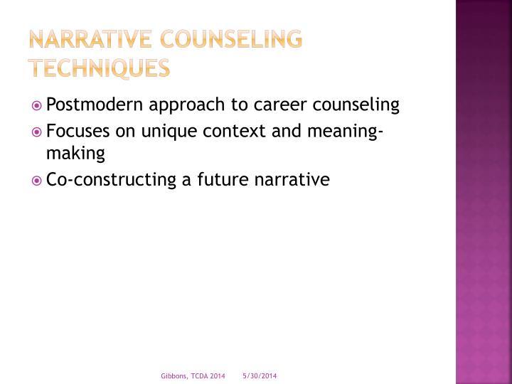 Narrative Counseling
