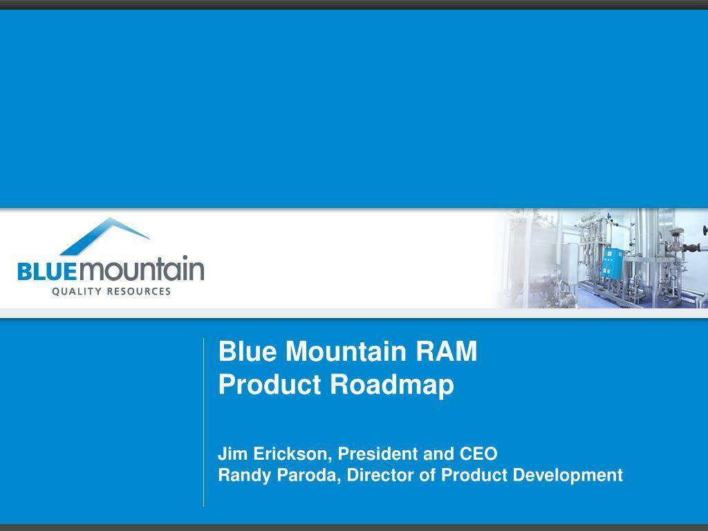 Roadmap Randy