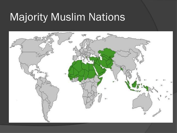 Majority muslim nations