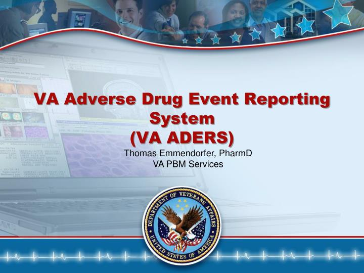 va adverse drug event reporting system va aders n.
