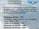 conven es e conferencias