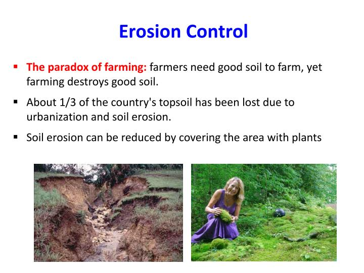 The paradox of farming: