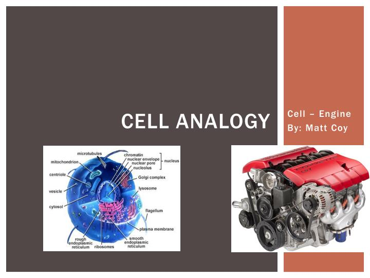 Ppt Cell Analogy Powerpoint Presentation Id2844751