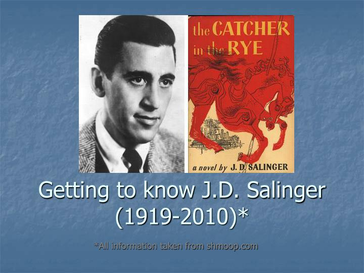 holdens depression in j d salingers the Salinger shows depression in his novel through the main character holden caulfield holden is a fine example for depression he lost a brother at a young age and has been thrown out of a variety of schools on numerous accounts.