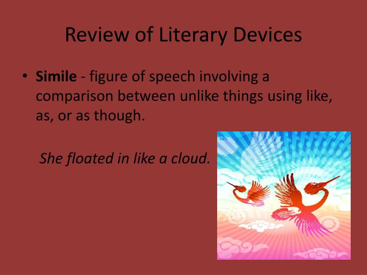 Review of literary devices1