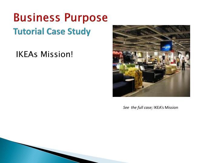 Business Purpose