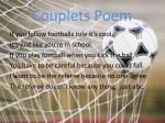 couplets poem