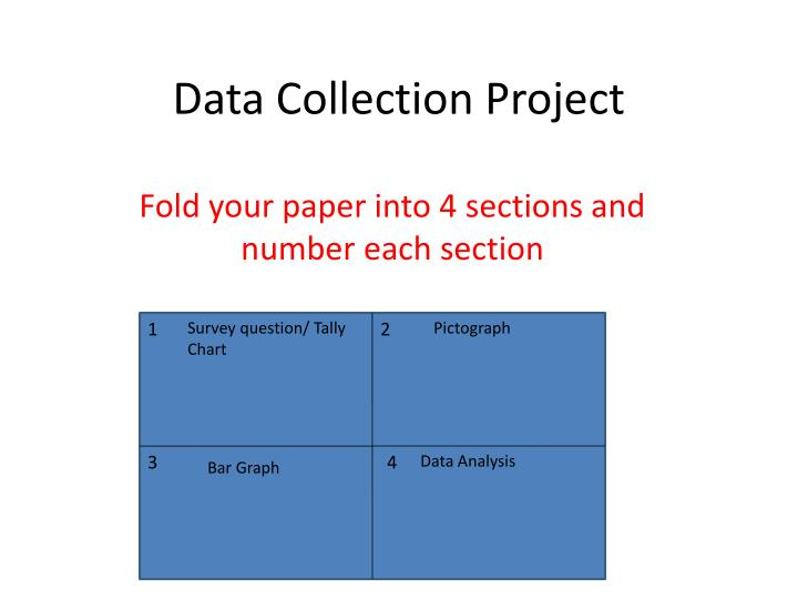 data collection paper res341 Data collection is an important aspect of any type of research study inaccurate data collection can impact the results of a study and ultimately lead to invalid results data collection methods for impact evaluation vary along a continuum.