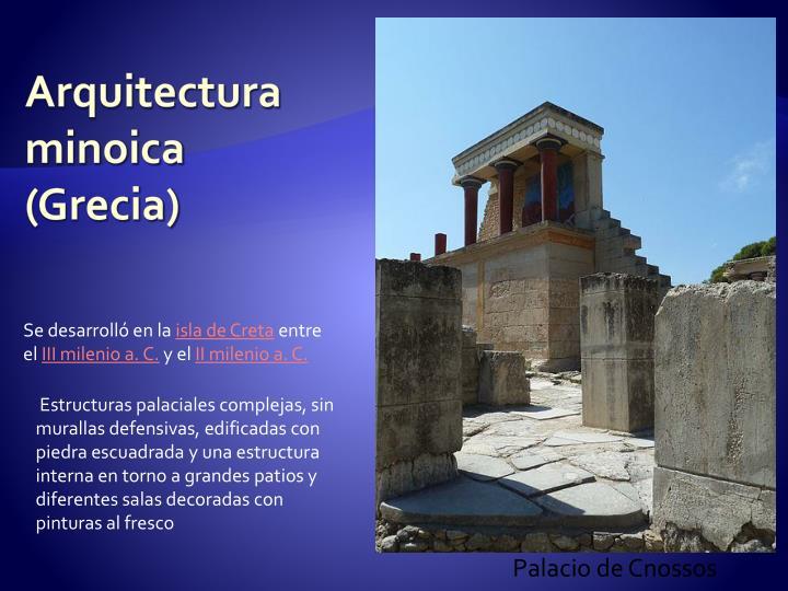 Arquitectura minoica (Grecia)
