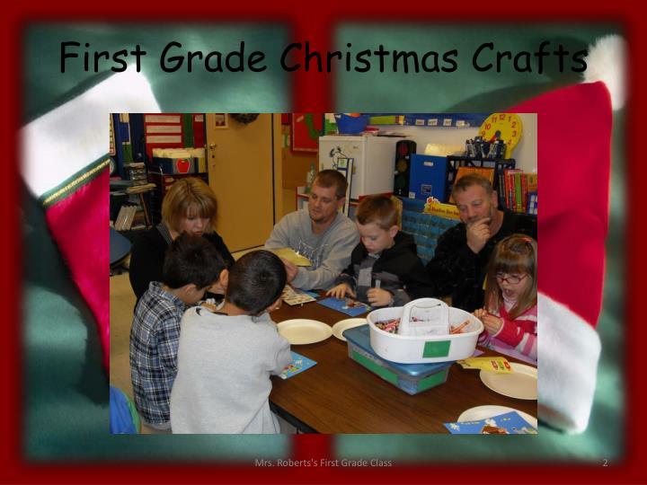 First grade christmas crafts1