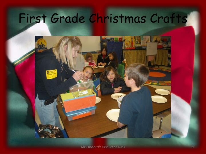 First Grade Christmas Crafts