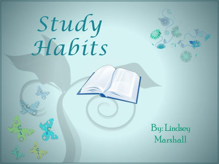 foreign literature related to study habits Good study habits lead to good academic record and bad study-habits lead to poor academic record as there is direct relationship between study habits and academic achievement study habits play an important role in human performance in academic field (verma, 1996.