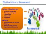 what is a culture of development