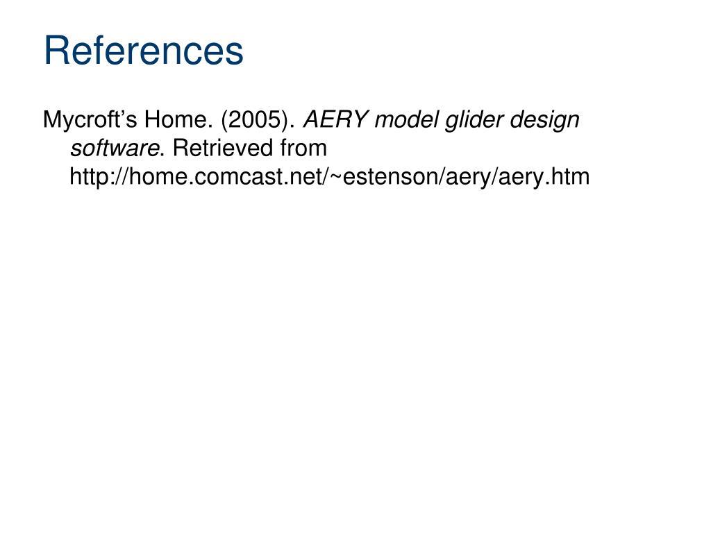 PPT - Aery Glider Design PowerPoint Presentation - ID:2846751