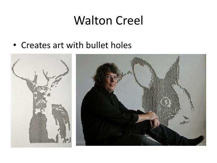 Walton Creel