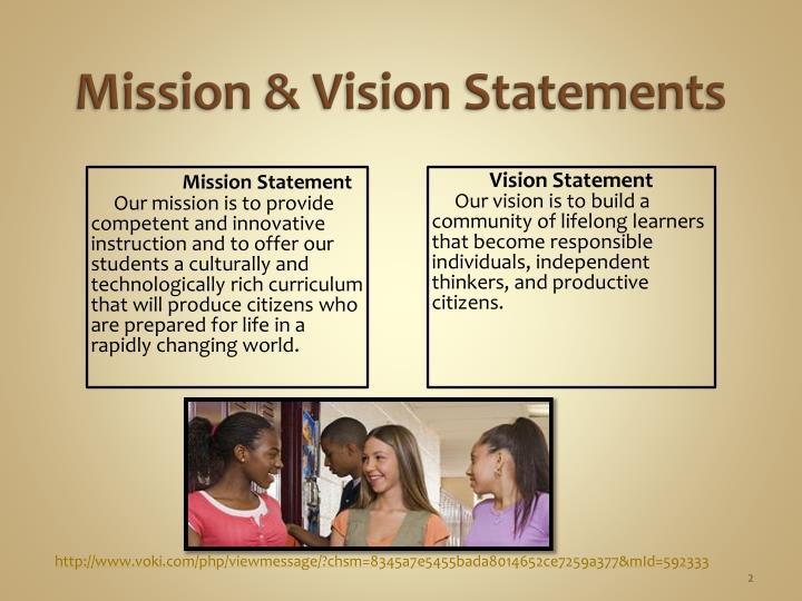 Mission vision statements