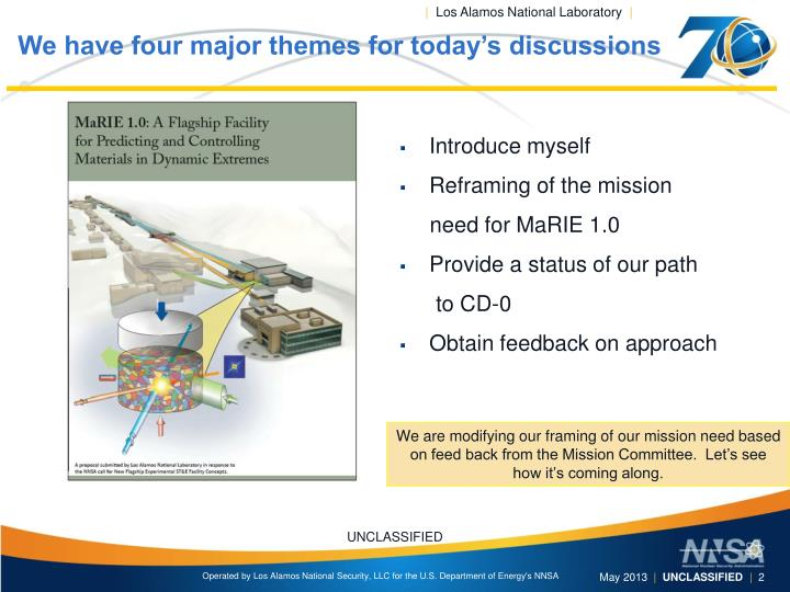 We have four major themes for today s discussions