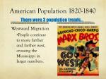 american population 1820 18402