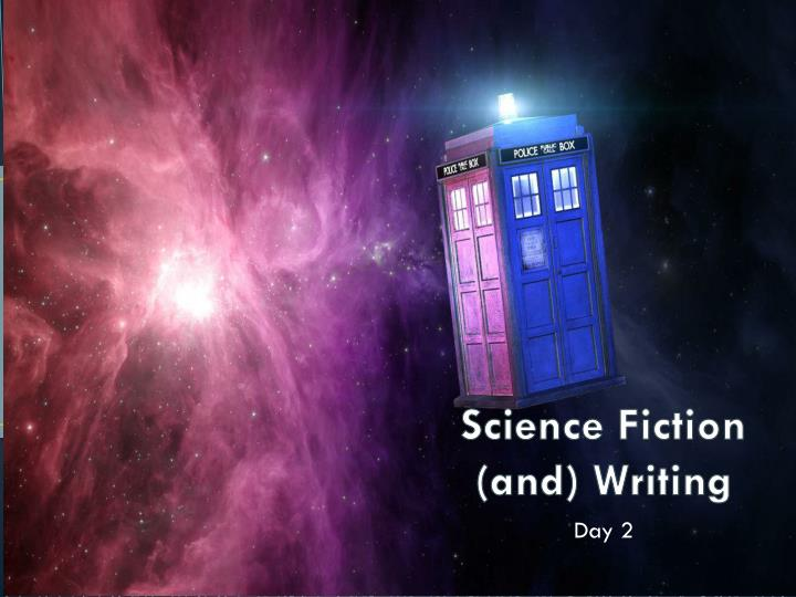 science fiction and writing