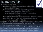 blu ray benefits