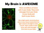 my brain is awesome2