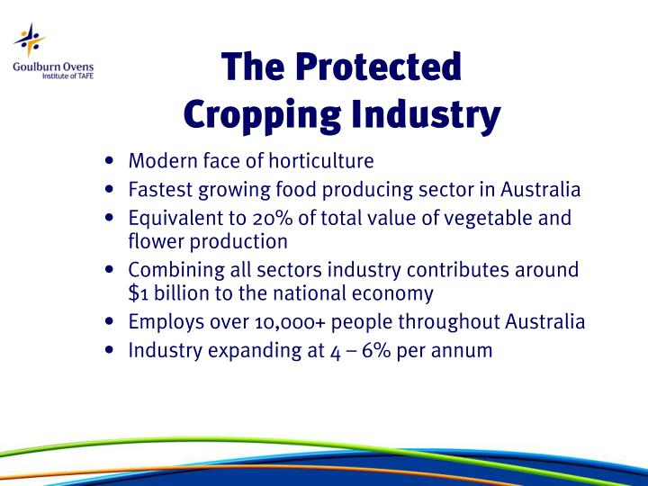 The Protected Cropping Industry