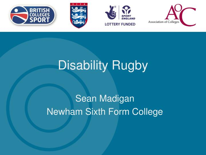 Disability Rugby