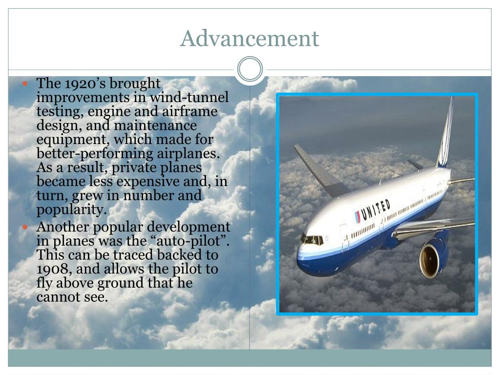 PPT - The Evolution of Airplanes PowerPoint Presentation - ID:2847877