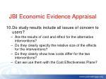 jbi economic evidence appraisal9
