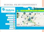 huduma fix my constituency