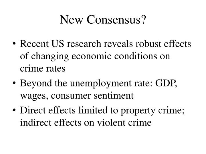 effect of unemployment on crime Thus, the connection between unemployment and crime should be profoundly and thoroughly investigated furthermore, the effects of other factors on crime cannot be ignored: if the increase in unemployment is followed by imposing a more severe punishment for crime, the connection.