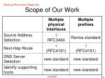 scope of our work