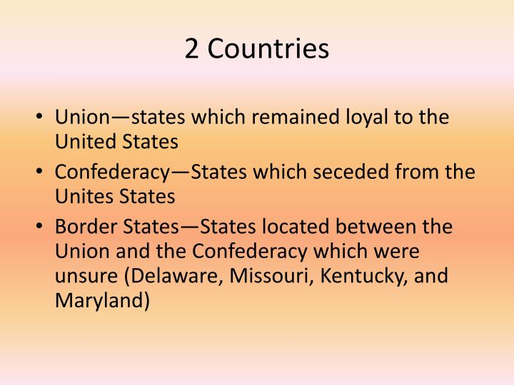 2 Countries