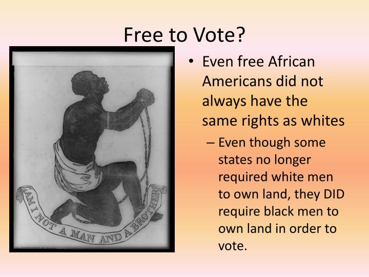 Free to Vote?