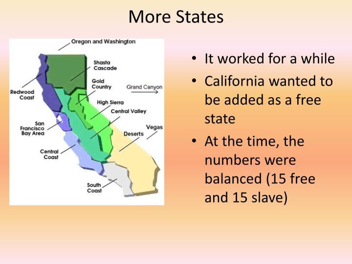 More States