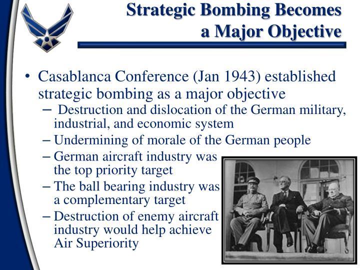 Strategic Bombing Becomes