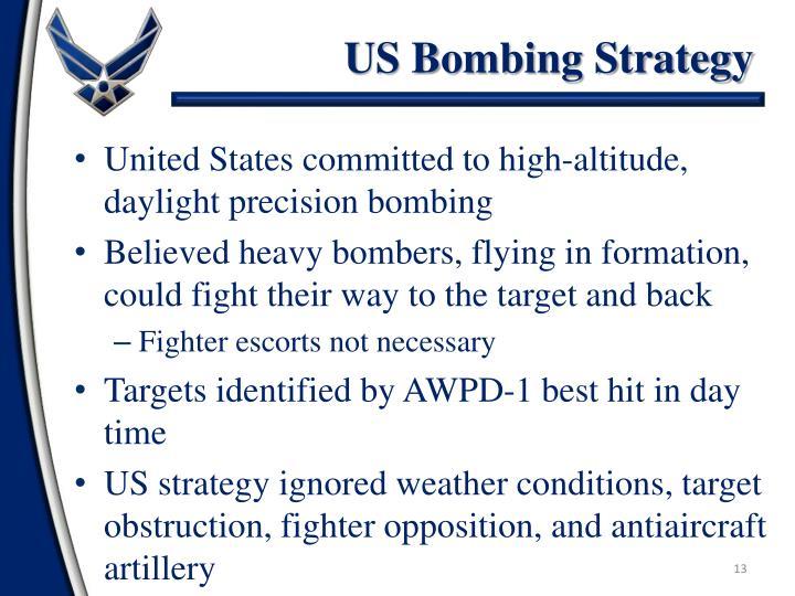 US Bombing Strategy