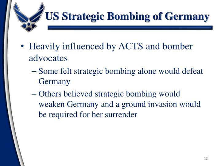 US Strategic Bombing of Germany
