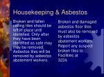 housekeeping asbestos1