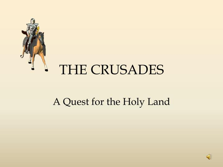 the crusades n.