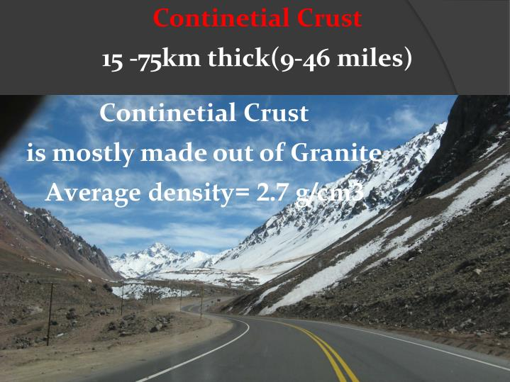 Continetial Crust